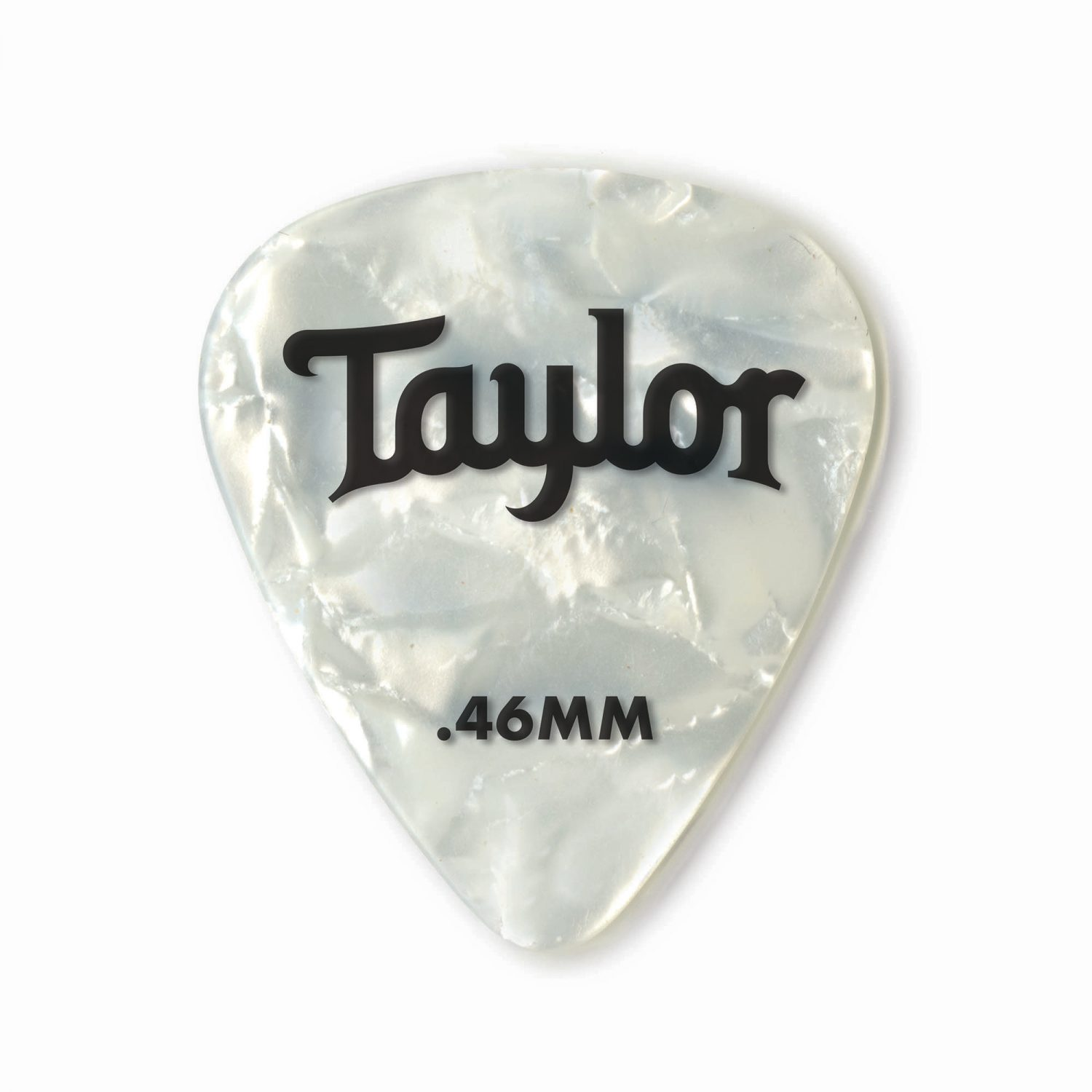 Celluloid 351 Picks /  White Pearl (12-Pack)