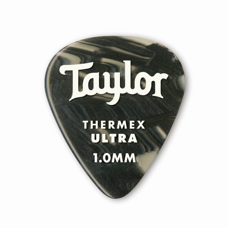 Premium 351 Thermex Ultra Picks / Black Onyx (6-Pack)