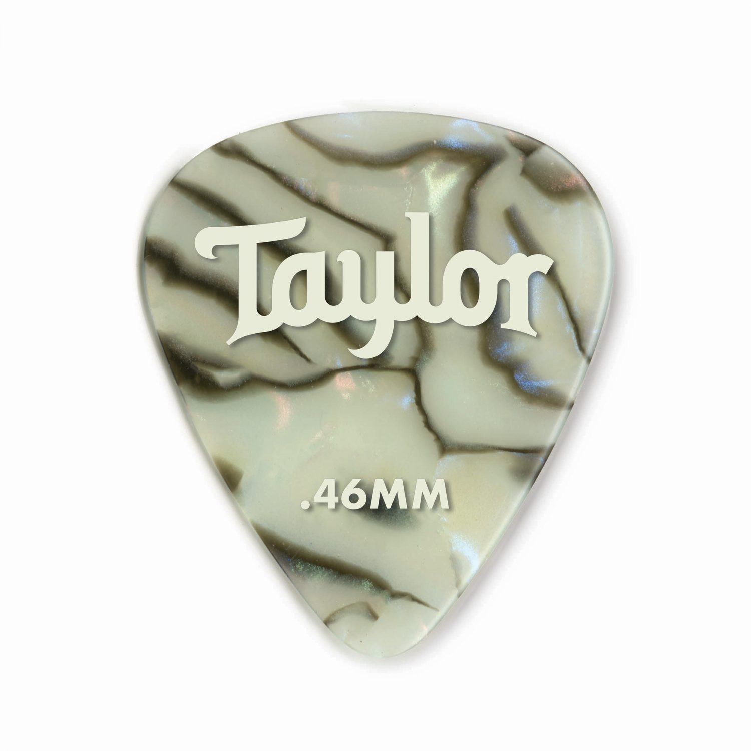 Celluloid 351 Picks / Abalone  (12-Pack)