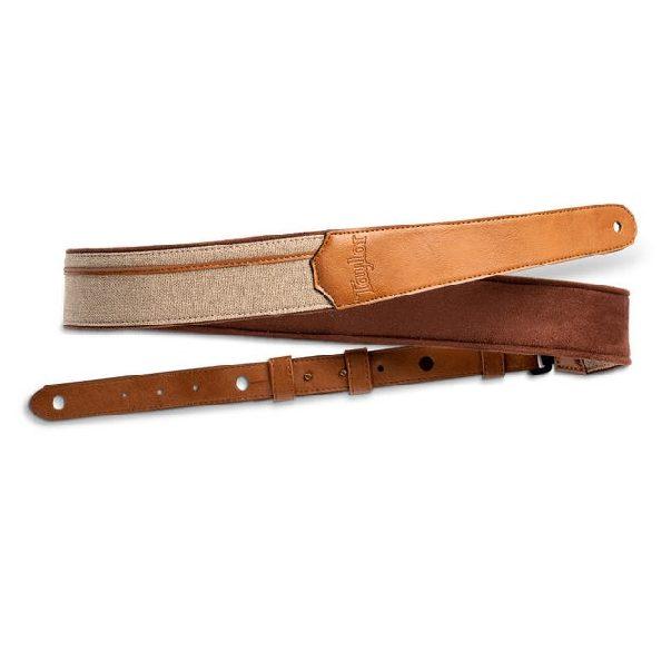 "TV250-01 Vegan Leather Strap, Tan, 2.5"""