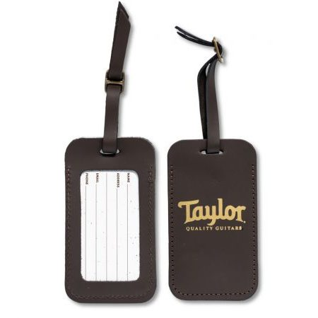 Taylor Leather Luggage Tag